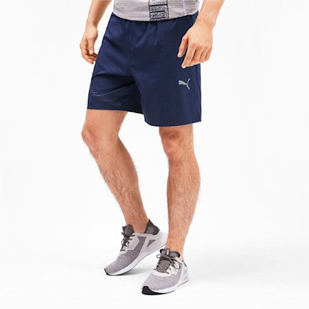 IGNITE Woven dryCELL Men's Training Shorts, Peacoat, small-IND