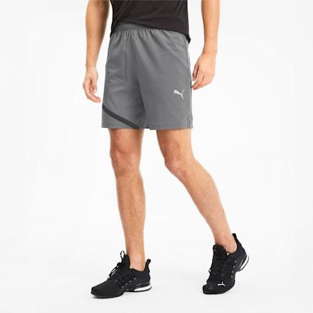 IGNITE Herren Gewebte Running Shorts, CASTLEROCK-Puma Black, small