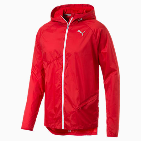 CHAQUETA PUMA Lightweight Hooded Jacket High Risk Red