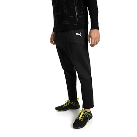 Energy Knitted Men's Training Pants, Puma Black, small-IND