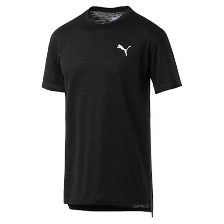 Energy Short Sleeve dryCELL Training T-Shirt, Puma Black Heather, small-IND