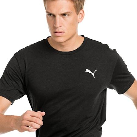 Energy Short Sleeve Men's Training Tee, Puma Black Heather, small