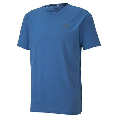 Energy Short Sleeve dryCELL Training T-Shirt, Palace Blue Heather, small-IND