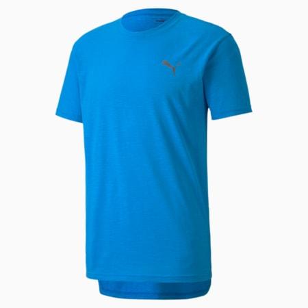 Energy Short Sleeve Men's Training Tee, Nrgy Blue Heather, small-SEA