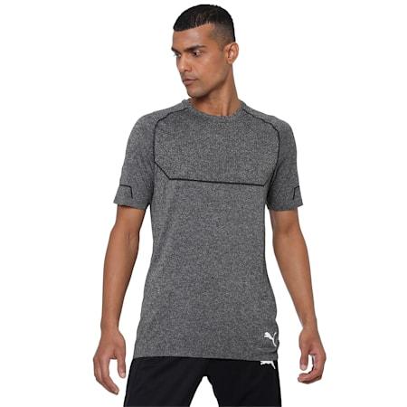 Energy evoKNIT Men's Training T-Shirt, Puma Black Heather, small-IND