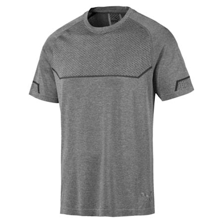 Energy evoKNIT Men's Training T-Shirt, Medium Gray Heather, small-IND