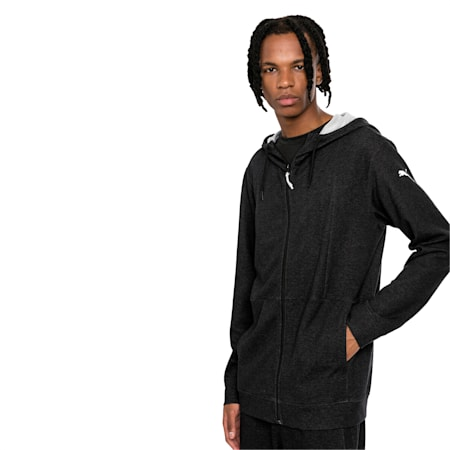 Energy Men's Jacket, Puma Black Heather, small-IND