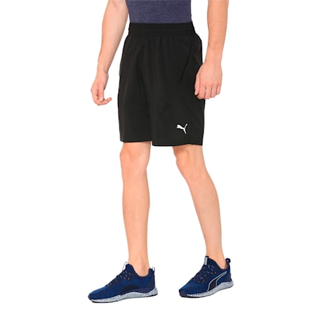 "Energy Woven 9"" Men's Running Shorts, Puma Black, small-IND"