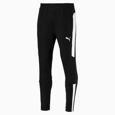 Energy Sweat Blaster Men's Pants, Puma Black-Puma White, small-SEA