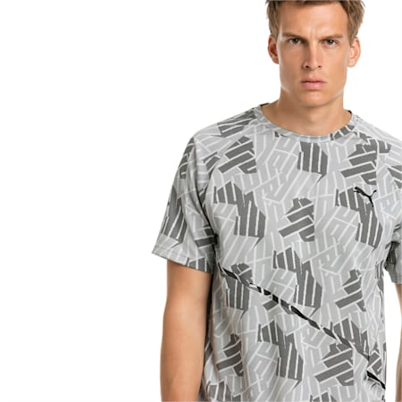 BND Tech Men's Training Tee, quarry, small-IND