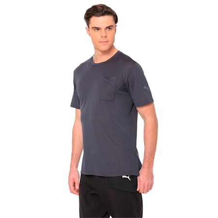 A.C.E. Men's Training Tee, Asphalt, small-IND