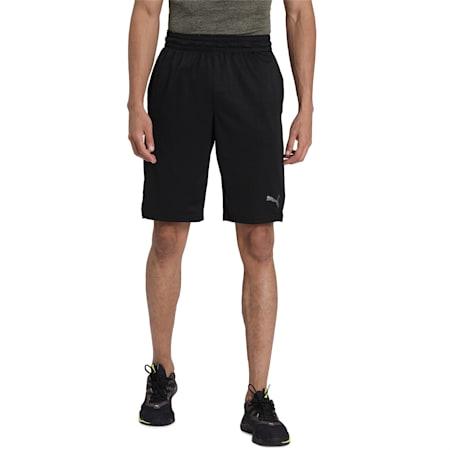 A.C.E Knit Men's Active shorts, Puma Black, small-IND