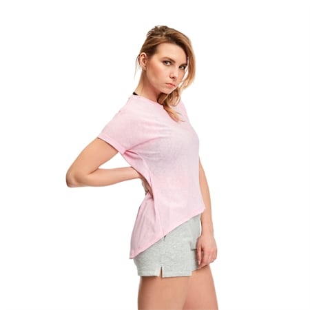 Bold Women's Tee, Pale Pink, small-SEA