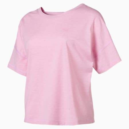 PUMA Twist it Tee, Pale Pink Heather, small-SEA