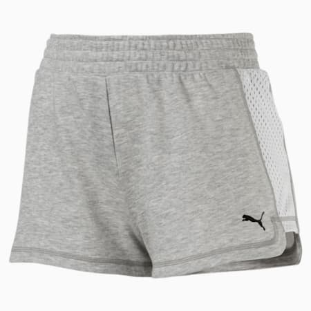 "Stand Out 2"" Women's Shorts, Light Gray Heather, small-SEA"