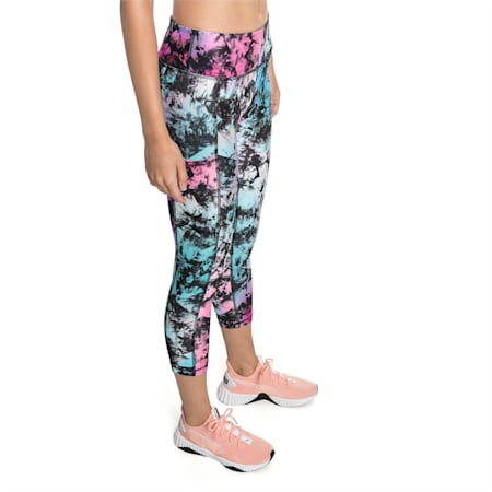 Stand Out Damen Training Leggings, puma black-Multi color, small
