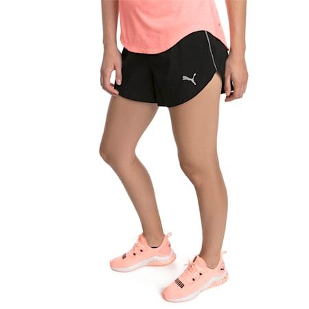 """Ignite 3"""" Women's Shorts, Puma Black, small-SEA"""