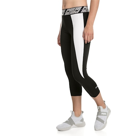 Own It Damen Leggings, Puma Black-Puma White-Q2, small