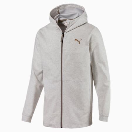 Energy Desert Full-Zip Men's Jacket, Whisper White Heather, small