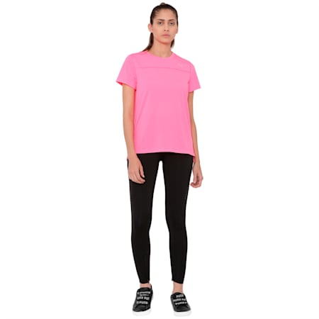 S/S Tee W, KNOCKOUT PINK, small-IND