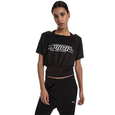 オン・ザ・ブリンク ウィメンズ SS Tシャツ 半袖, Puma Black, small-JPN