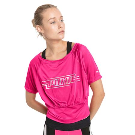 オン・ザ・ブリンク ウィメンズ SS Tシャツ 半袖, Fuchsia Purple, small-JPN