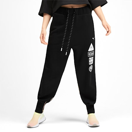 PUMA x SELENA GOMEZ Women's Sweatpants, Puma Black, small-IND