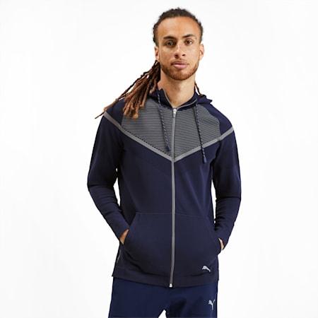 Reactive evoKNIT Men's Jacket, Peacoat-CASTLEROCK, small