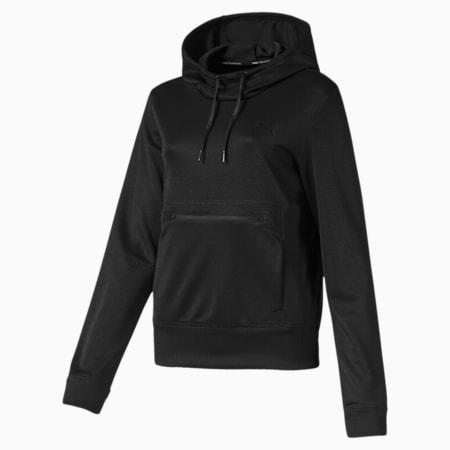 SHIFT Women's Hoodie, Puma Black Q4, small