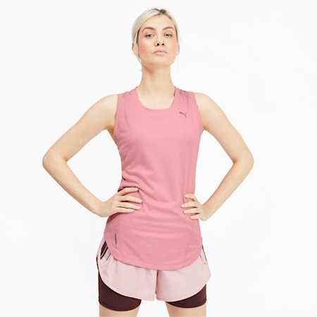 IGNITE dryCELL Women's Running Tank Top, Bridal Rose, small-IND