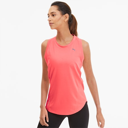 IGNITE Women's Running Tank Top, Ignite Pink, small-SEA