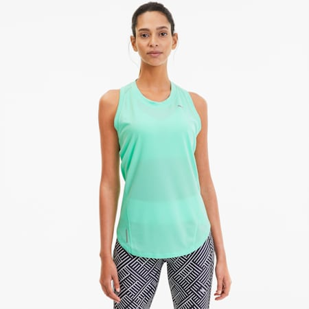 IGNITE Women's Running Tank Top, Green Glimmer, small