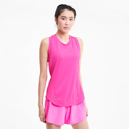 IGNITE dryCELL Women's Running Tank Top, Luminous Pink, small-IND