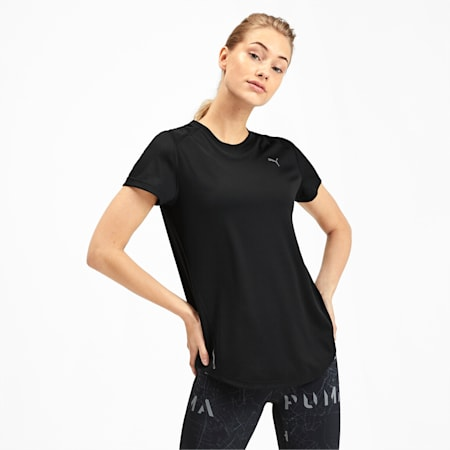IGNITE dryCELL Women's T-Shirt, Puma Black, small-IND