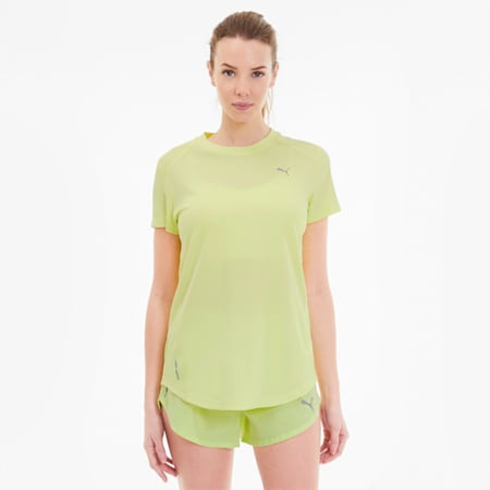 IGNITE Women's Tee, Sunny Lime, small-SEA