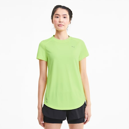 IGNITE Women's Tee, Fizzy Yellow, small-SEA