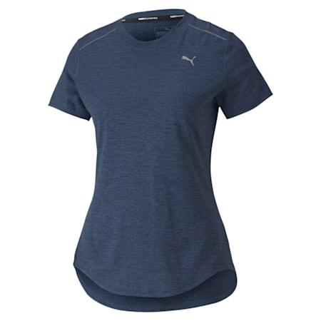 IGNITE dryCELL Heather Women's  T-shirt, Dark Denim Heather, small-IND