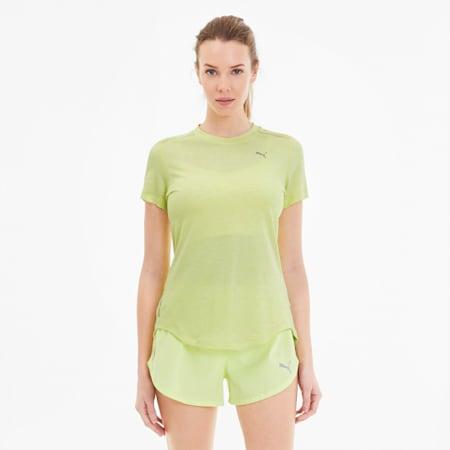 Damska koszulka IGNITE Heather, Sunny Lime Heather, small