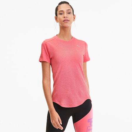 IGNITE Heather Damen T-Shirt, Bubblegum Heather, small