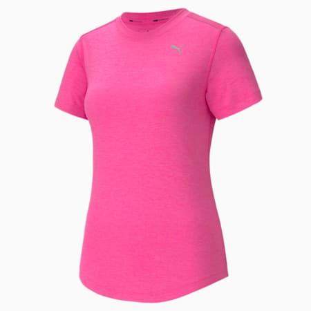 이그나이트 헤더 SS 티, Luminous Pink Heather, small-KOR
