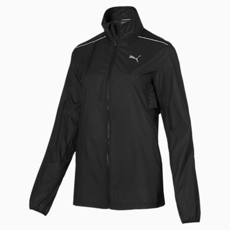 IGNITE Women's Wind Jacket, Puma Black, small-IND