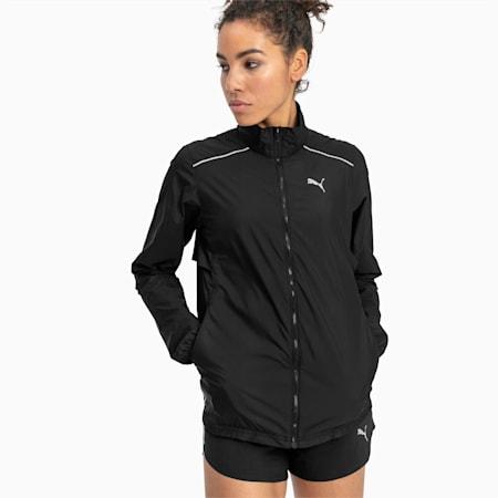 IGNITE Women's Wind Jacket, Puma Black, small