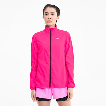 IGNITE Women's windCELL Jacket, Luminous Pink, small-IND