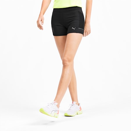 IGNITE Tight dryCELL Women's Running Shorts, Puma Black, small-IND