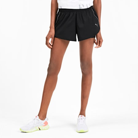 Last Lap 2-in-1 Women's Shorts, Puma Black-Puma Black, small