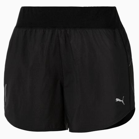 "IGNITE 4"" Women's Running Shorts, Puma Black, small-SEA"