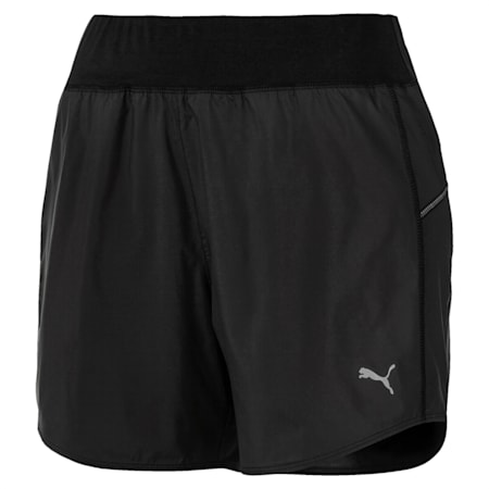 IGNITE windCELL Reflective Tec Women's Running Shorts, Puma Black, small-IND