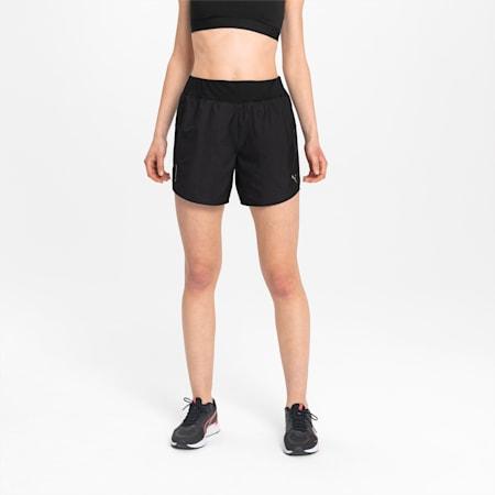 """IGNITE Women's 5"""" Running Shorts, Puma Black, small"""