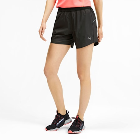 "IGNITE Women's 5"" Running Shorts, Puma Black, small-SEA"