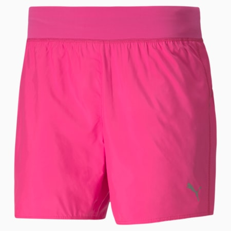 IGNITE windCELL Reflective Tec Women's Running Shorts, Luminous Pink, small-IND